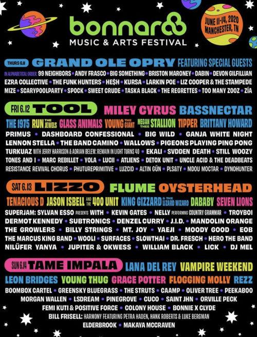 Bonnar 2020 Music Fest