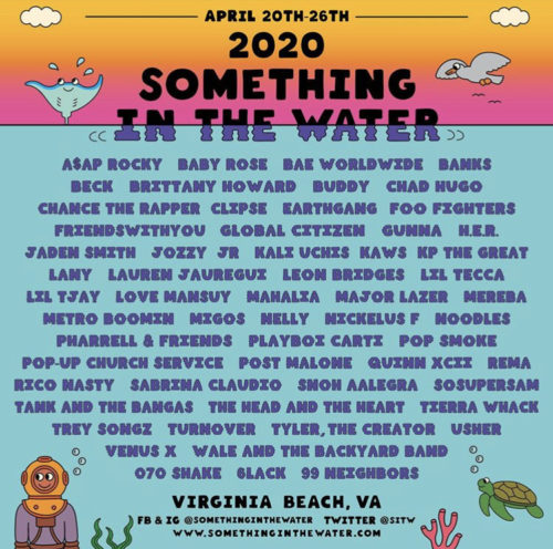 2020 Something In The Water Music Fest