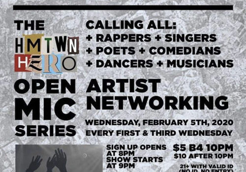 HMTWN HERO Open Mic Series